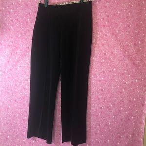 White House Black Market 10S Black Dress Pants